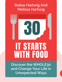 It Starts With Food: Discover the WHOLE30 and Change Your Life in Unexpected Ways by Dallas Hartwig and Melissa Hartwig