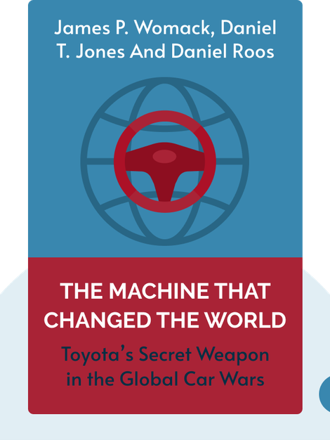 The Machine That Changed the World: The Story of Lean Production: Toyota's Secret Weapon in the Global Car Wars That Is Now Revolutionizing World Industry by James P. Womack, Daniel T. Jones and Daniel Roos