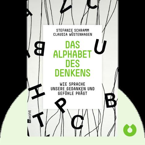 Das Alphabet des Denkens von Stefanie Schramm & Claudia Wüstenhagen