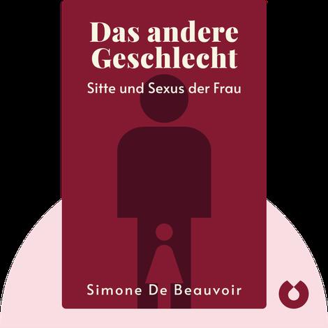 Das andere Geschlecht by Simone de Beauvoir