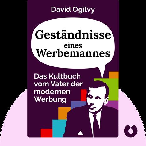 Geständnisse eines Werbemannes by David Ogilvy