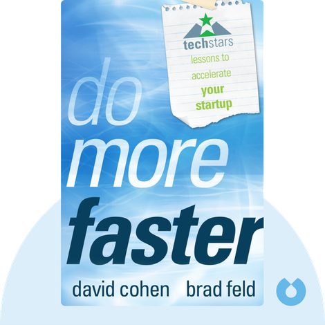 Do More Faster von David Cohen and Brad Feld
