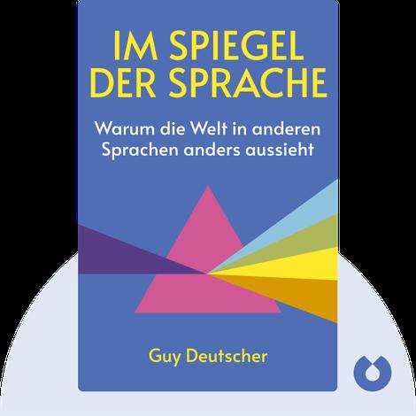 Im Spiegel der Sprache by Guy Deutscher