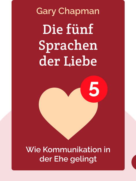 Die fünf Sprachen der Liebe: Wie Kommunikation in der Ehe gelingt by Gary Chapman