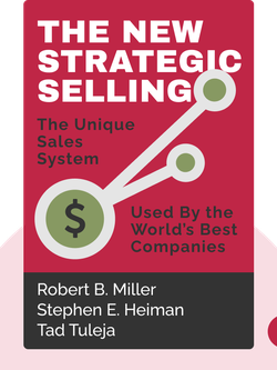 The New Strategic Selling: The Unique Sales System Proven Successful By the World's Best Companies by Robert B. Miller, Stephen E. Heiman, Tad Tuleja
