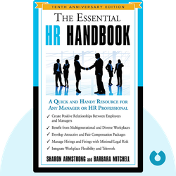 The Essential HR Handbook:  A Quick and Handy Resource for Any Manager or HR Professional by Sharon Armstrong & Barbara Mitchell