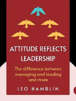 Attitude Reflects Leadership  von Leo Hamblin