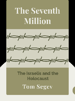 The Seventh Million: The Israelis and the Holocaust by Tom Segev