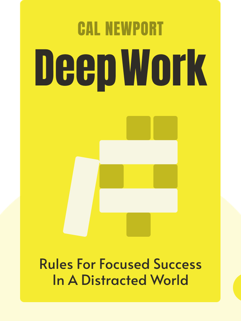 Deep Work: Rules for Focused Success in a Distracted World von Cal Newport
