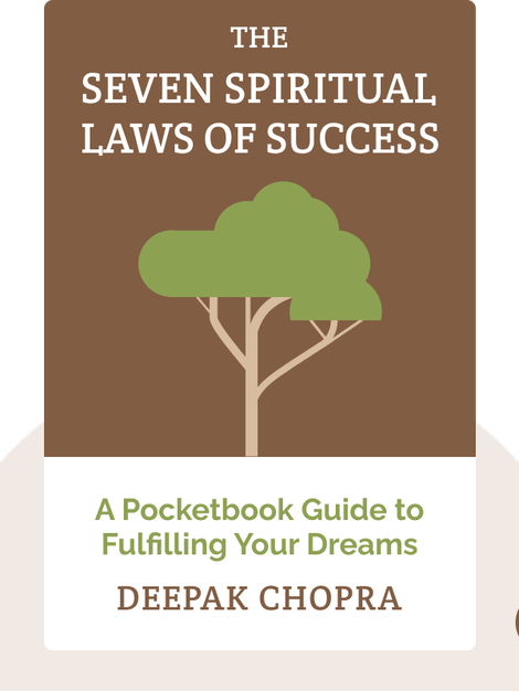 The Seven Spiritual Laws of Success: A Pocketbook Guide to Fulfilling Your Dreams by Deepak Chopra