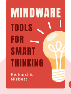 Mindware: Tools for Smart Thinking von Richard E. Nisbett