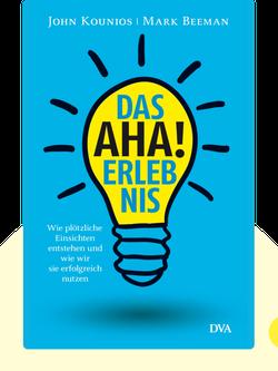 Das Aha-Erlebnis: Wie plötzliche Erkenntnisse entstehen und wie wir sie erfolgreich nutzen by John Kounios & Mark Beeman