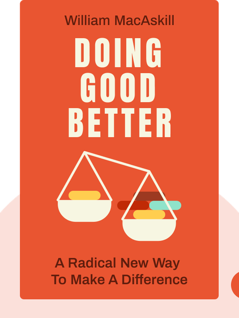 Doing Good Better: A Radical New Way to Make a Difference by William MacAskill