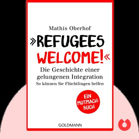 Refugees Welcome! von Mathis Oberhof & Carsten Tergast