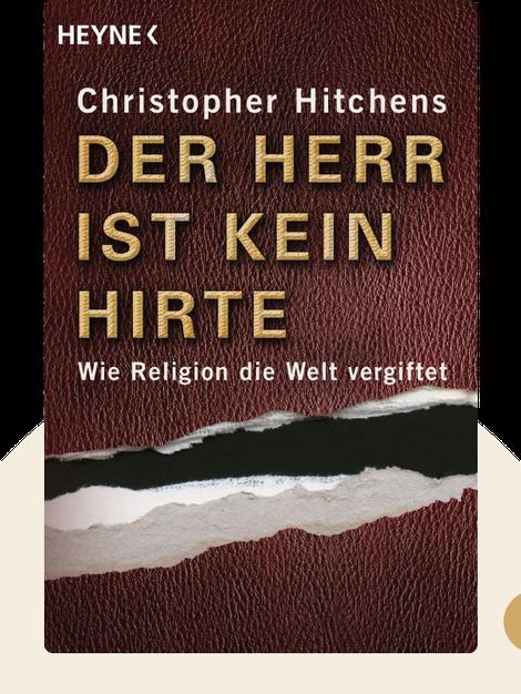 Der Herr ist kein Hirte: Wie Religion die Welt vergiftet by Christopher Hitchens
