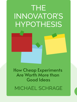 The Innovator's Hypothesis: How Cheap Experiments Are Worth More than Good Ideas von Michael Schrage