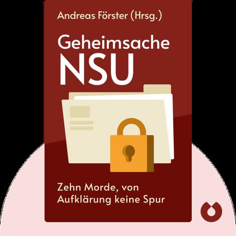 Geheimsache NSU von Andreas Förster (Hrsg.)