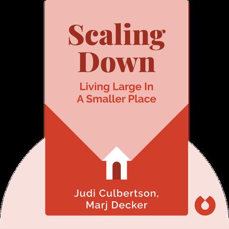 Scaling Down by Judi Culbertson, Marj Decker