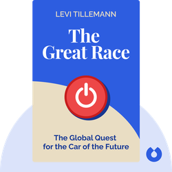 The Great Race: The Global Quest for the Car of the Future by Levi Tillemann