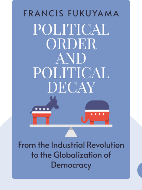 Political Order and Political Decay : From the Industrial Revolution to the Globalization of Democracy  by Francis Fukuyama