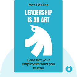 Leadership Is an Art by Max De Pree