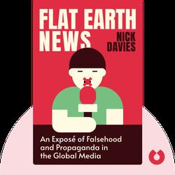 Flat Earth News : An Award-Winning Reporter Exposes Falsehood, Distortion, and Propaganda in the Global Media  von Nick Davies