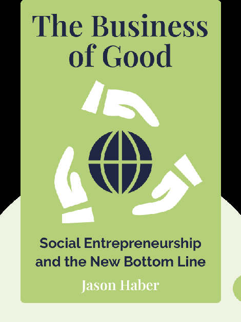 The Business of Good: Social Entrepreneurship and the New Bottom Line von Jason Haber