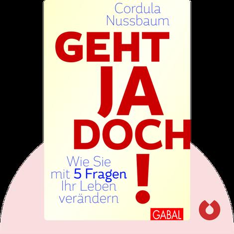 Geht ja doch! by Cordula Nussbaum