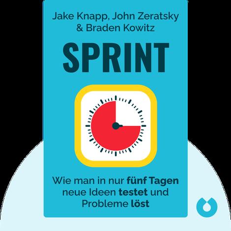 Sprint by Jake Knapp, John Zeratsky & Braden Kowitz