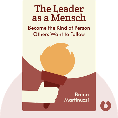 The Leader as a Mensch by Bruna Martinuzzi