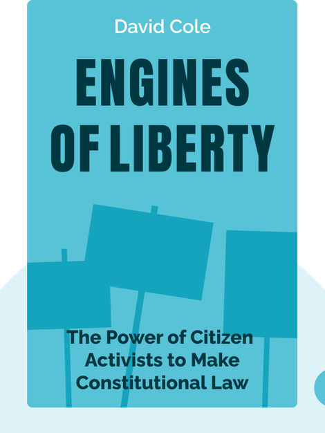 Engines of Liberty: The Power of Citizen Activists to Make Constitutional Law by David Cole