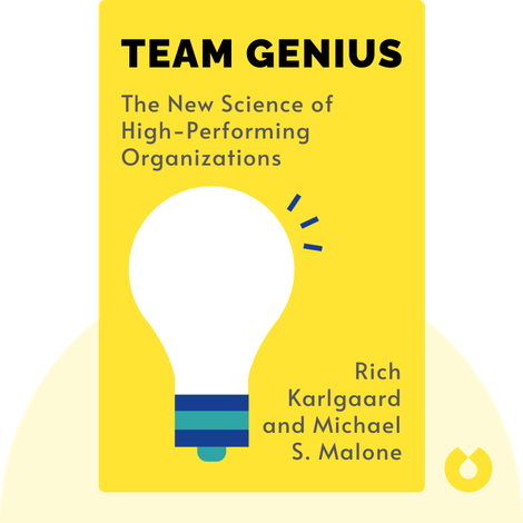 Team Genius by Rich Karlgaard and Michael S. Malone