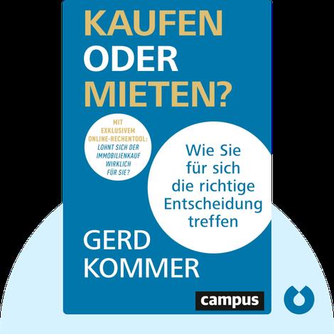 Kaufen oder mieten? von Gerd Kommer