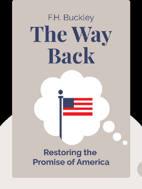The Way Back: Restoring the Promise of America von F.H. Buckley