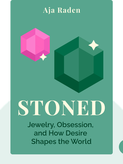 Stoned: Jewelry, Obsession, and How Desire Shapes the World  von Aja Raden