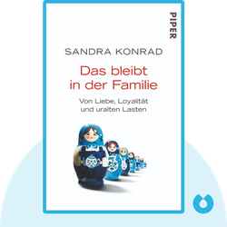 Das bleibt in der Familie :  Von Liebe, Loyalität und uralten Lasten von Sandra Konrad