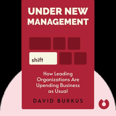 Under New Management von David Burkus