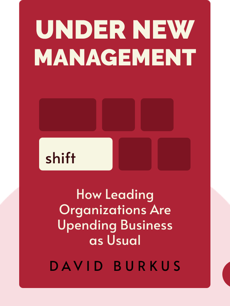 Under New Management: How Leading Organizations Are Upending Business as Usual von David Burkus