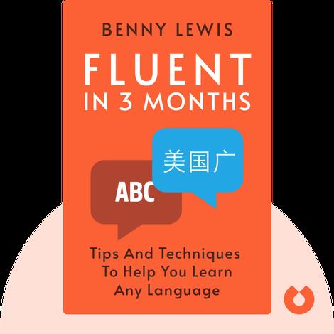 Fluent In 3 Months von Benny Lewis