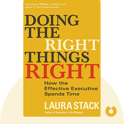 Doing the Right Things Right: How the Effective Executive Spends Time von Laura Stack