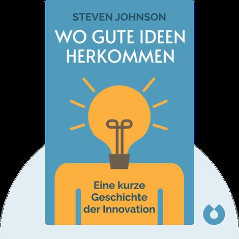Wo gute Ideen herkommen by  Steven Johnson