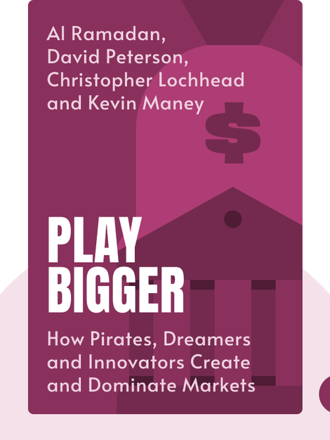 Play Bigger: How Pirates, Dreamers and Innovators Create and Dominate Markets by Al Ramadan, David Peterson, Christopher Lochhead and Kevin Maney