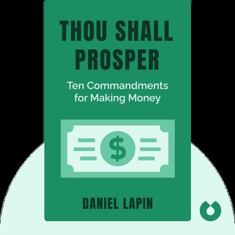 Thou Shall Prosper by Daniel Lapin