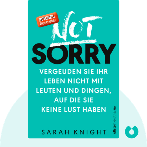Not Sorry by Sarah Knight
