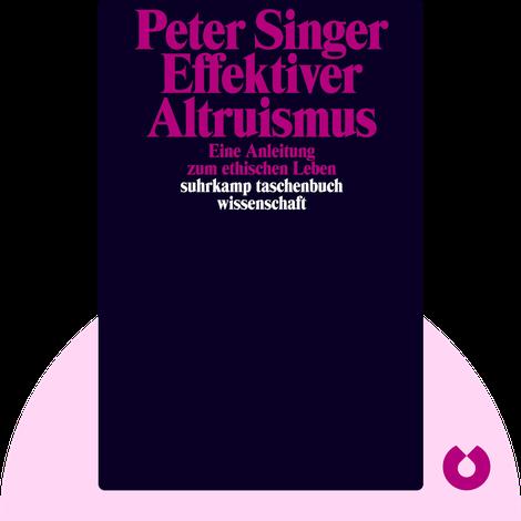 Effektiver Altruismus von Peter Singer