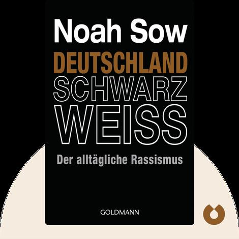 Deutschland Schwarz Weiss by Noah Sow