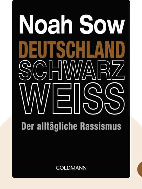 Deutschland Schwarz Weiss: Der alltägliche Rassismus by Noah Sow
