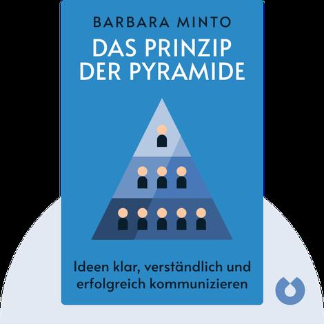 Das Prinzip der Pyramide by Barbara Minto