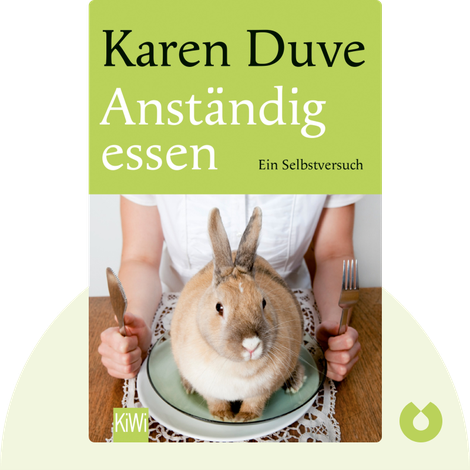 Anständig essen von Karen Duve