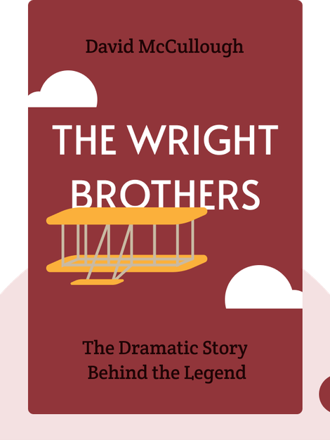 The Wright Brothers: The Dramatic Story Behind the Legend by David McCullough